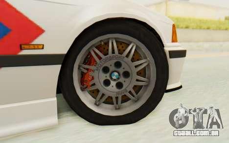 BMW M3 E36 Police Indonesia para GTA San Andreas vista interior