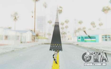 Misteltein Weapon para GTA San Andreas segunda tela