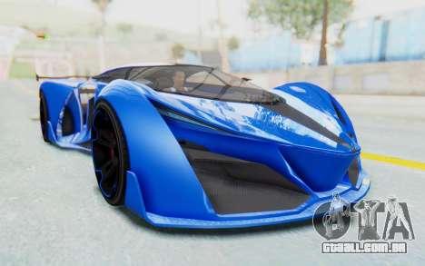 GTA 5 Grotti Prototipo v1 para GTA San Andreas vista direita