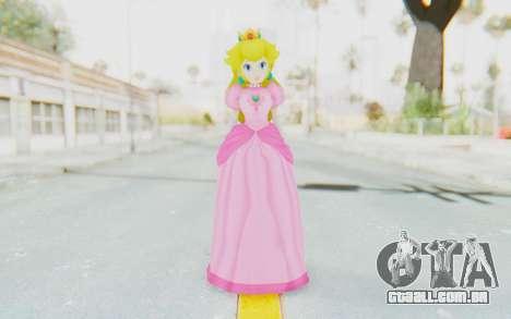 Princess Peach para GTA San Andreas segunda tela