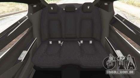 GTA 5 Maserati Quattroporte 2013 volante