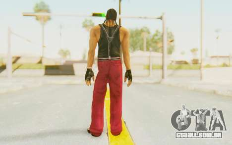 Def Jam Fight For New York - Snoop Dogg para GTA San Andreas terceira tela