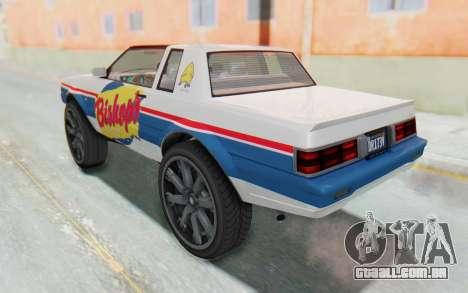 GTA 5 Willard Faction Custom Donk v1 para GTA San Andreas interior