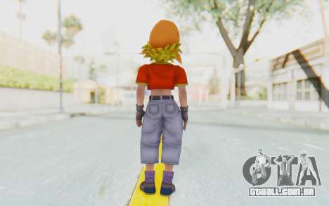 Dragon Ball Xenoverse Pan SSJ para GTA San Andreas terceira tela