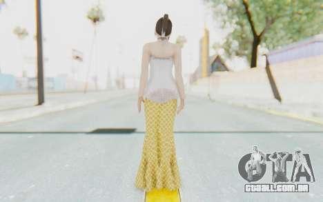 Linda Meilinda Kebaya para GTA San Andreas terceira tela