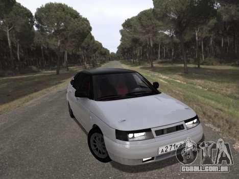 VAZ 2112 GVR para GTA San Andreas