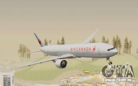 Boeing 777-300ER Air Canada para GTA San Andreas