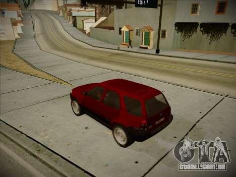 Ford Escape 2005 para GTA San Andreas traseira esquerda vista