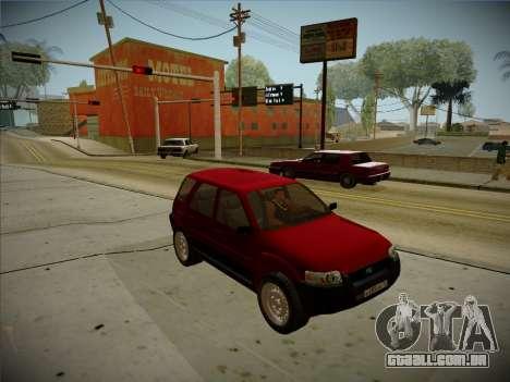 Ford Escape 2005 para GTA San Andreas esquerda vista