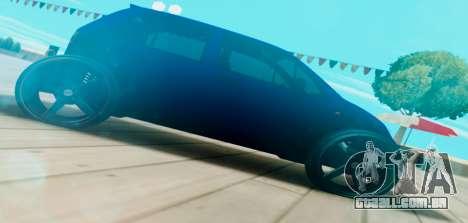 Daewoo Matiz R20 Vossen para GTA San Andreas esquerda vista