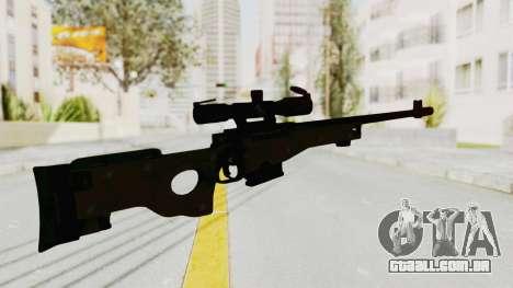 L96 para GTA San Andreas terceira tela