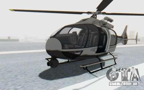 GTA 5 Maibatsu Frogger Civilian IVF para GTA San Andreas vista direita
