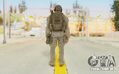 CoD MW2 Ghost Model v5 para GTA San Andreas terceira tela