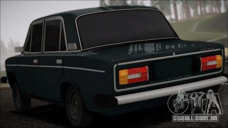 VAZ 2106 Vagabundo para GTA San Andreas esquerda vista