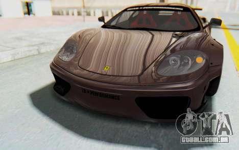 Ferrari 360 Modena Liberty Walk LB Perfomance v1 para o motor de GTA San Andreas