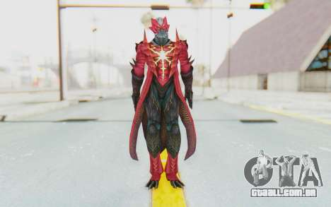 Devil May Cry 4 - Dante Demon para GTA San Andreas segunda tela