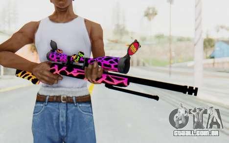 Sniper para GTA San Andreas terceira tela