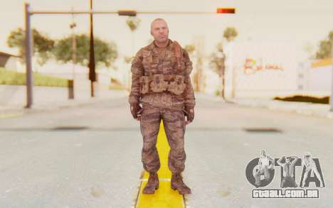 COD BO Hudson Vietnam para GTA San Andreas segunda tela