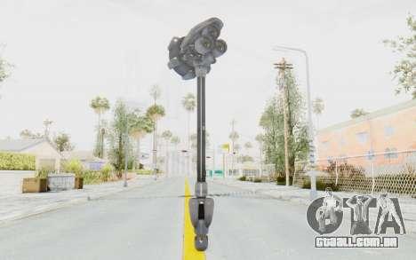 Reinhardt Hammer para GTA San Andreas terceira tela