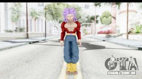 Dragon Ball Xenoverse Future Trunks SSJ4 para GTA San Andreas segunda tela