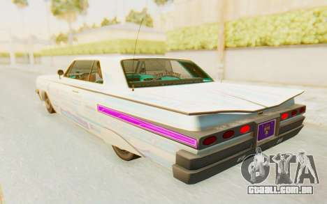 GTA 5 Declasse Voodoo Alternative v1 para GTA San Andreas