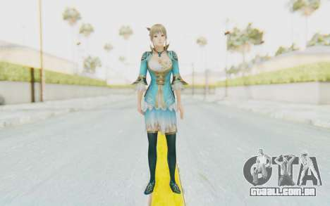 Dynasty Warriors 8 - Wang Yuanji para GTA San Andreas segunda tela
