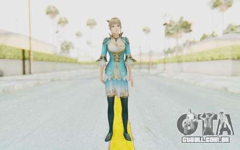 Dynasty Warriors 8 - Wang Yuanji para GTA San Andreas segunda tela