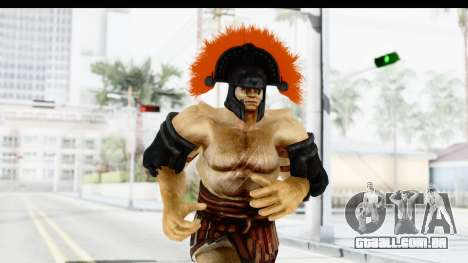 God of War 3 - Hercules v1 para GTA San Andreas