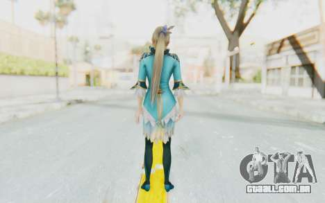 Dynasty Warriors 8 - Wang Yuanji para GTA San Andreas terceira tela