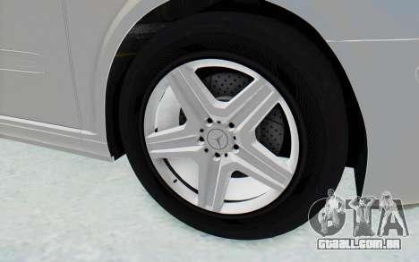 Mercedes-Benz Viano W639 2010 Long Version para GTA San Andreas vista traseira