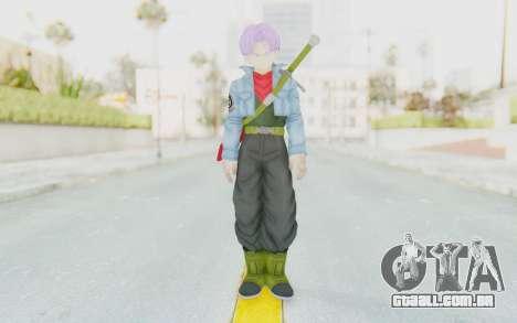 Trunks Del Futuro v2 para GTA San Andreas segunda tela