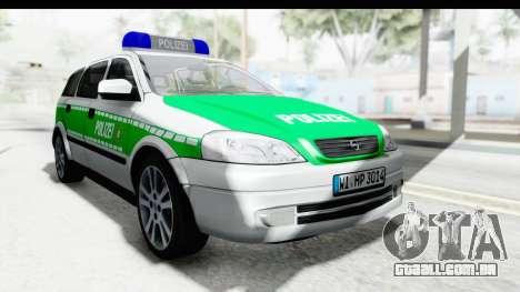 Opel Astra G Variant Polizei Bayern para GTA San Andreas