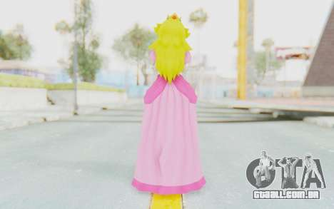 Princess Peach para GTA San Andreas terceira tela