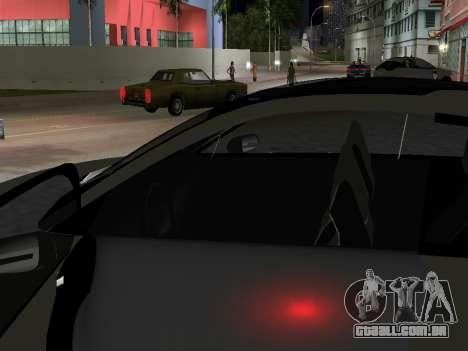 Lada X-Ray para GTA Vice City vista traseira esquerda