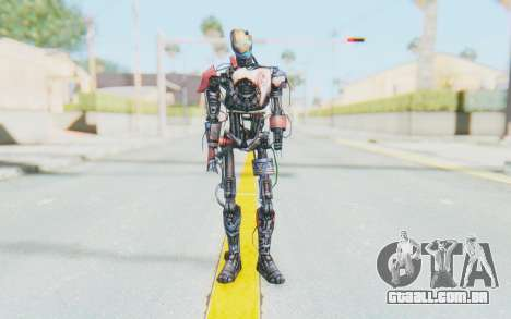 Marvel Future Fight - Ultron Mk1 para GTA San Andreas segunda tela