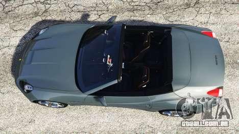 Ferrari California Autovista para GTA 5