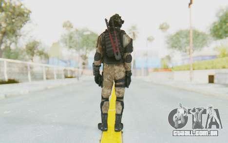 Federation Elite SMG Desert para GTA San Andreas terceira tela