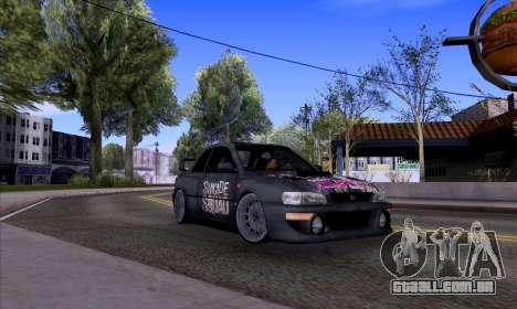 Subaru impreza 22B (SUICIDE SQUAD) para GTA San Andreas