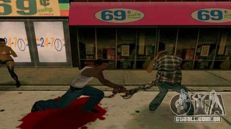 Prince Of Persia Water Sword para GTA San Andreas segunda tela