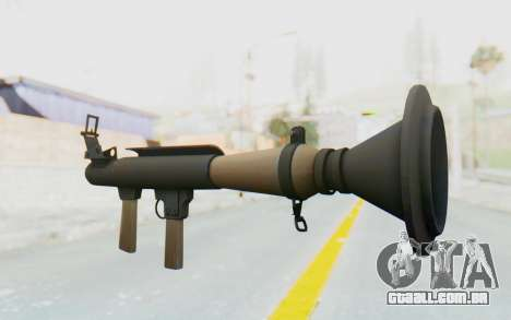 Rocket Launcher from TF2 para GTA San Andreas segunda tela