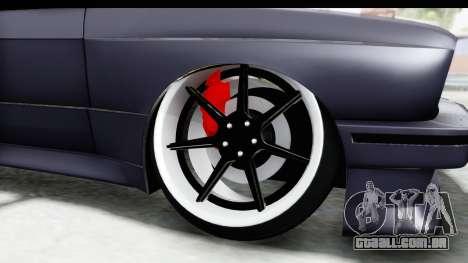 BMW M3 E30 2015 JDM para GTA San Andreas vista traseira
