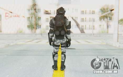 Federation Elite LMG Arctic para GTA San Andreas terceira tela