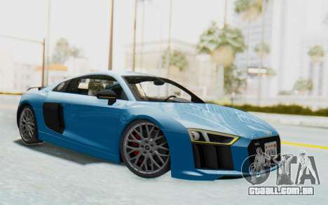 Audi R8 V10 2017 v2.0 para GTA San Andreas