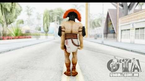 God of War 3 - Hercules v1 para GTA San Andreas terceira tela