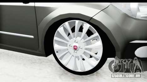 Fiat Linea 2014 para GTA San Andreas vista traseira