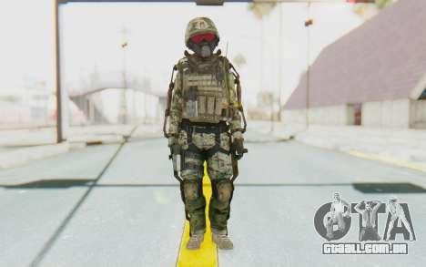 CoD AW US Marine Assault v2 Head B para GTA San Andreas segunda tela