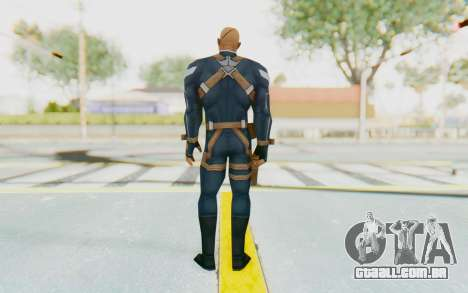 Marvel Future Fight - Nick Fury para GTA San Andreas terceira tela