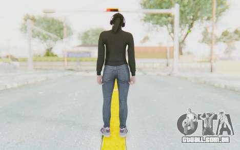 GTA Online Skin Female para GTA San Andreas terceira tela