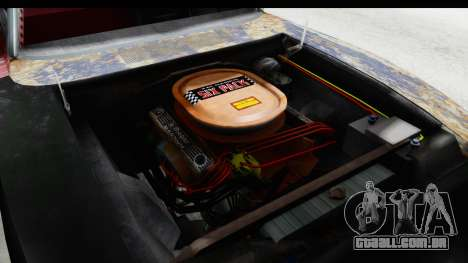 Dodge Charger Daytona F&F Bild para GTA San Andreas vista interior