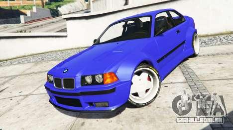 GTA 5 BMW M3 (E36) Street Custom [blue dials] v1.1 volante